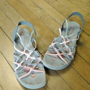 Skechers Memory Foam Sandals Size 8